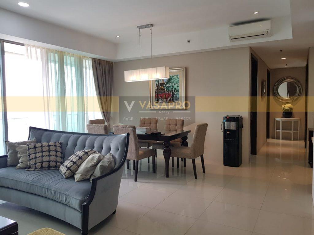 Apartemen St Moritz Tower Ambasador Di Jual Fully Furnish Livingroom Dinning Room 1